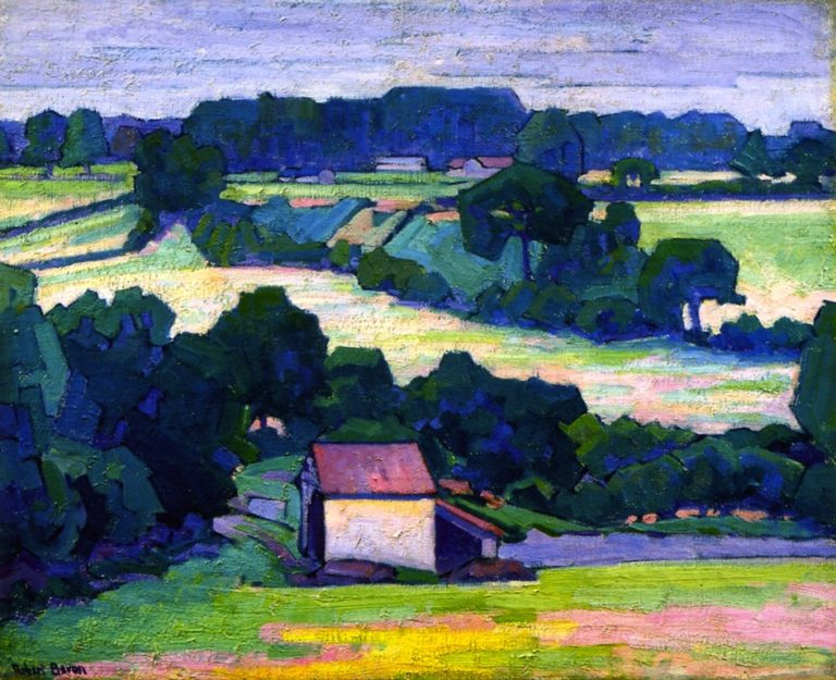 Near Applehayes | Robert Bevan | oil painting