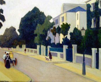 Queen's Road St John's Wood | Robert Bevan | oil painting