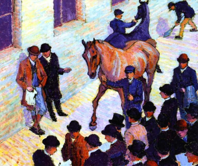 Sale at Tattersall's | Robert Bevan | oil painting