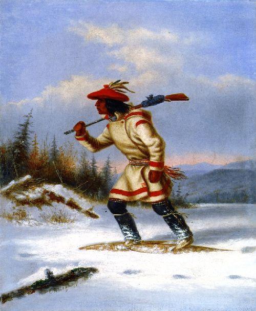 The Indian Hunter | Cornelius Krieghoff | oil painting