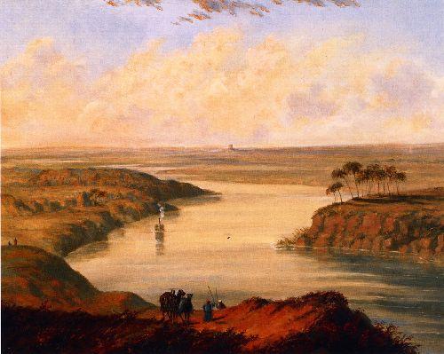 The Plains of Babylon | Cornelius Krieghoff | oil painting