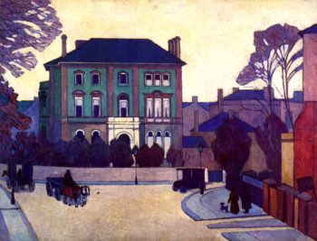 The Green House St John's Wood | Robert Bevan | oil painting