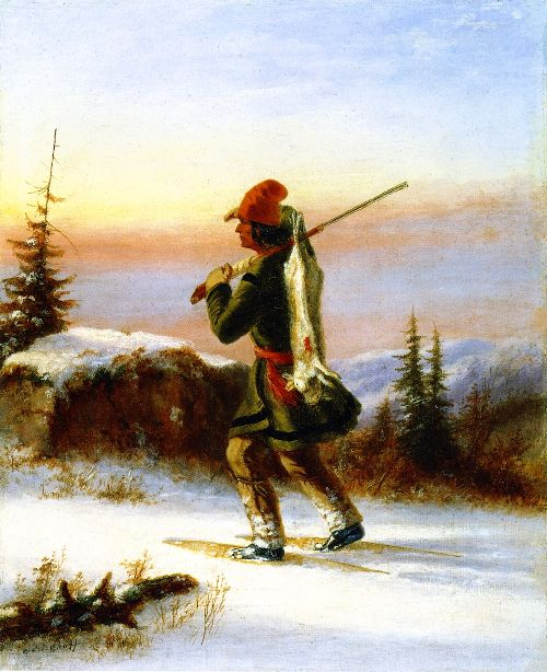 The Trapper | Cornelius Krieghoff | oil painting
