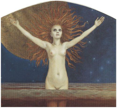 Ad astra | Akseli Gallen Kallela | oil painting