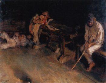 Afternoon Repose | Akseli Gallen Kallela | oil painting