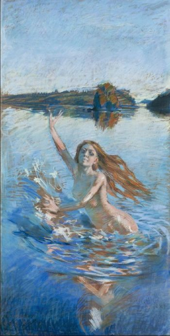Aino | Akseli Gallen Kallela | oil painting