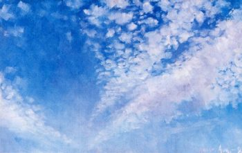 Clouds | Akseli Gallen Kallela | oil painting
