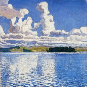 Cloud Towers | Akseli Gallen Kallela | oil painting