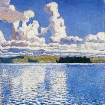 Cloud Towers | Akseli Gallen Kallela | oil painting