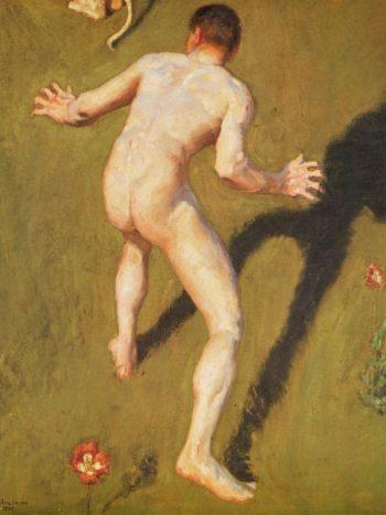 Conseptio Artis | Akseli Gallen Kallela | oil painting
