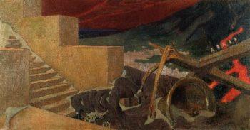 Destruction | Akseli Gallen Kallela | oil painting