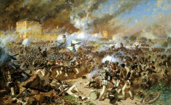 Battle of Smolensk | Alexander Averyanov | oil painting