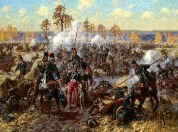 Case under Medyn 13 25 October 1812 Capture of General Tyszkiewicz | Alexander Averyanov | oil painting