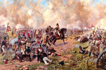 Marshal Ney at the Battle of Friedland 2 14 June 1807 | Alexander Averyanov | oil painting