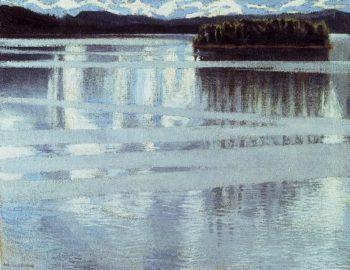 Lake Keitele | Akseli Gallen Kallela | oil painting