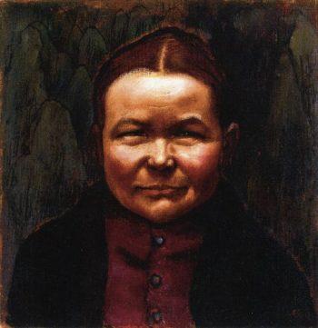 Maija the Weaver | Akseli Gallen Kallela | oil painting