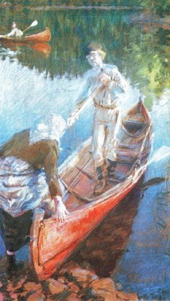 Midsummers Night   Akseli Gallen Kallela   oil painting