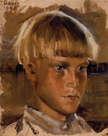 Orphan Boy | Akseli Gallen Kallela | oil painting