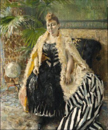 Parisienne | Akseli Gallen Kallela | oil painting