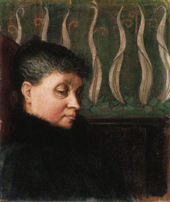 Portrait of Aina Sloor | Akseli Gallen Kallela | oil painting