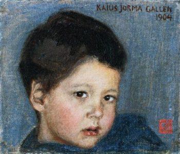 Portrait of Kaius Jorma Gallen | Akseli Gallen Kallela | oil painting