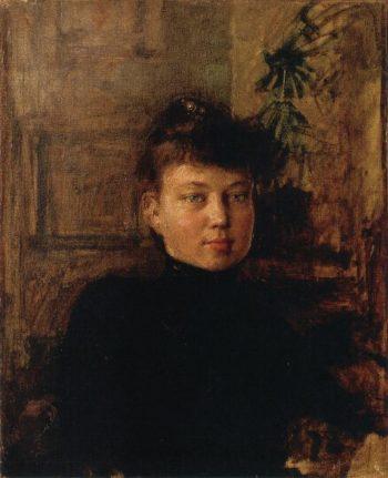 Portrait of Mary Sloor   Akseli Gallen Kallela   oil painting