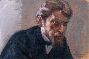 Portrait of Robert Kajanus   Akseli Gallen Kallela   oil painting