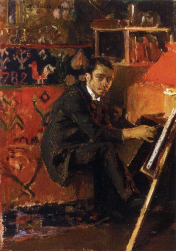 Portrait of the Painter Eero Jarnefelt | Akseli Gallen Kallela | oil painting