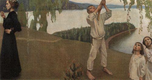 Spring | Akseli Gallen Kallela | oil painting