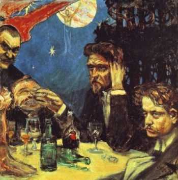 Symposium | Akseli Gallen Kallela | oil painting