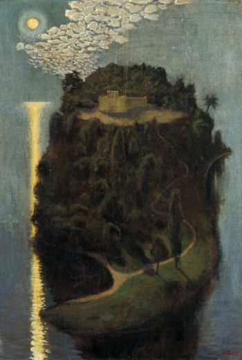 The Island of the Blessed | Akseli Gallen Kallela | oil painting