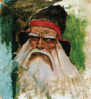 The Wizard Vainamoinen | Akseli Gallen Kallela | oil painting