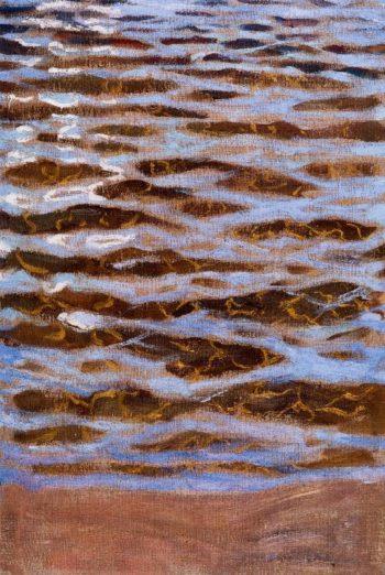 Waves | Akseli Gallen Kallela | oil painting
