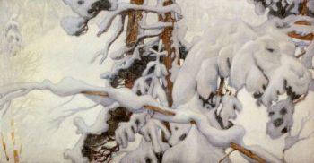Winter | Akseli Gallen Kallela | oil painting