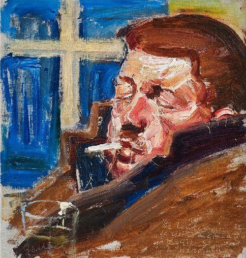 After the Feast | Akseli Gallen Kallela | oil painting