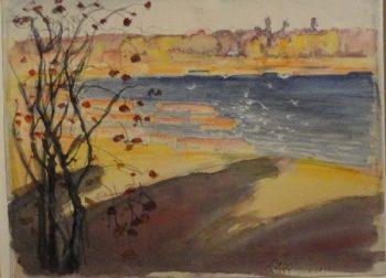 Helsinki   Akseli Gallen Kallela   oil painting