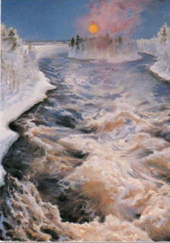 Imatra | Akseli Gallen Kallela | oil painting