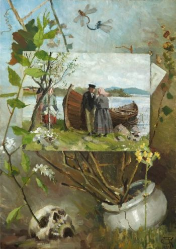 In Spring | Akseli Gallen Kallela | oil painting