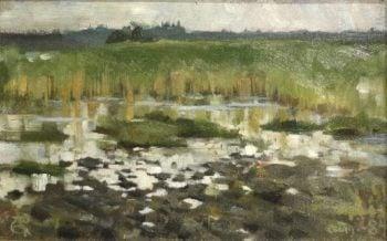 Kaislikko | Akseli Gallen Kallela | oil painting