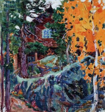 Kalela in Autumn | Akseli Gallen Kallela | oil painting