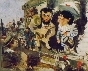 Kasper Theatre | Akseli Gallen Kallela | oil painting