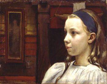 Little Anne | Akseli Gallen Kallela | oil painting