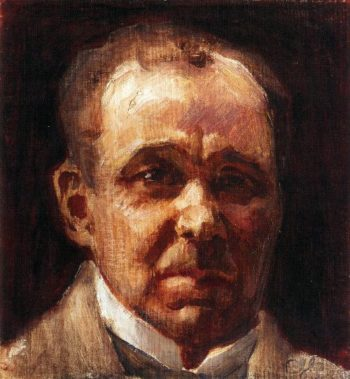 Portrait of Eino Leino | Akseli Gallen Kallela | oil painting