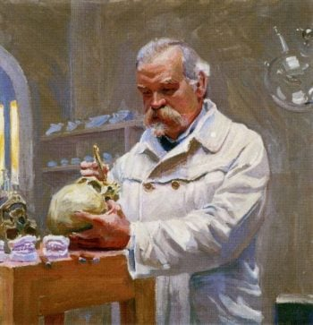 Portrait of Matti Ayrapaa   Akseli Gallen Kallela   oil painting