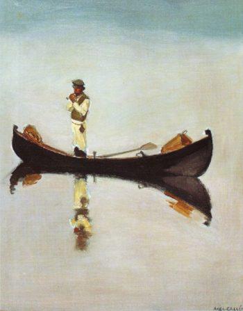 The Fisherman | Akseli Gallen Kallela | oil painting