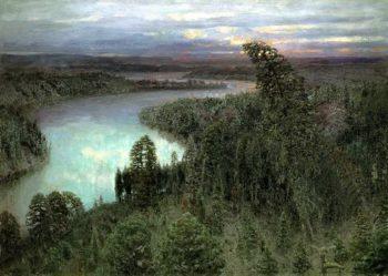 Northern Territory 1899   Apollinaris M Vasnetsov   oil painting