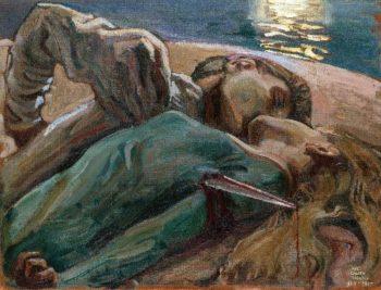 The Lovers | Akseli Gallen Kallela | oil painting