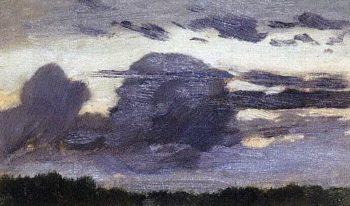 Oblaka2 1880 1890 e   Apollinaris M Vasnetsov   oil painting