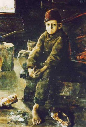 Tiggargosse | Akseli Gallen Kallela | oil painting