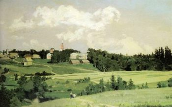 Ohtyrka 1880   Apollinaris M Vasnetsov   oil painting